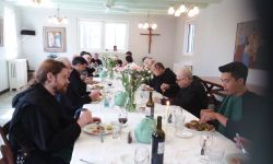 Easter Dinner at the Abbey