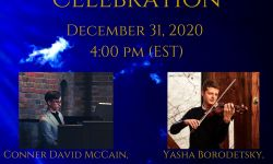 New Year's Eve Celebration Concert to be Streamed Live
